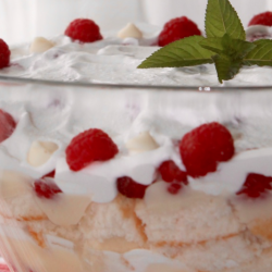 white chocolate raspberry trifle recipe