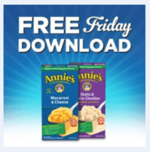 kroger coupon free annie's mac cheese