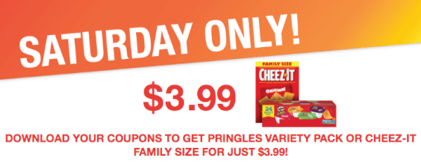 kroger coupon pringles cheez-it