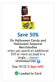 kroger halloween coupon
