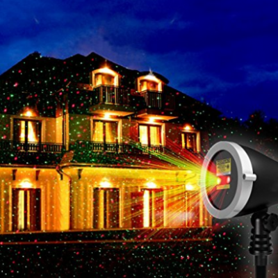 Outdoor star shower laser light projector with wireless remote this is a great price on a star shower laser light show for multiple holidays its priced at just 4199 for the amazon deal of the day plus there is a aloadofball Choice Image