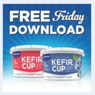 kroger coupon free lifeway kefir cup