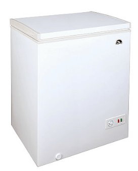 igloo chest freezer