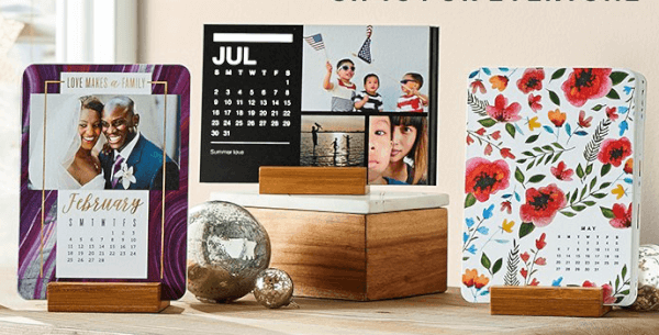 Shutterfly Free 8x11 Or Easel Photo Calendar Bargains To Bounty