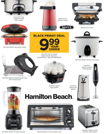Kohl's: BIG DEALS on Small Kitchen Appliances [FREE or $1.69 ...