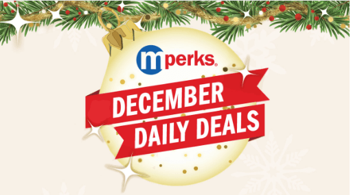 meijer december daily deals