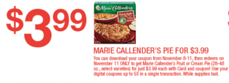 picture relating to Marie Callender Coupons Printable identified as Weblog Reductions in the direction of Bounty