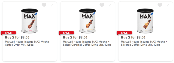 Meijer 013 Max By Maxwell House Instant Coffee Drink