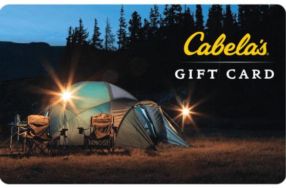 cabela's gift card deal