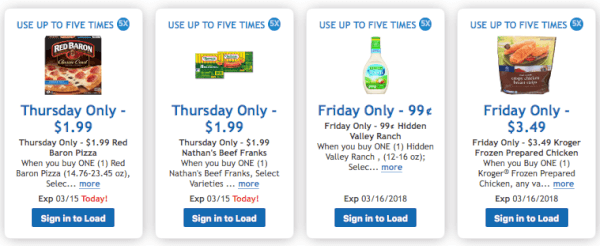 kroger digital deals