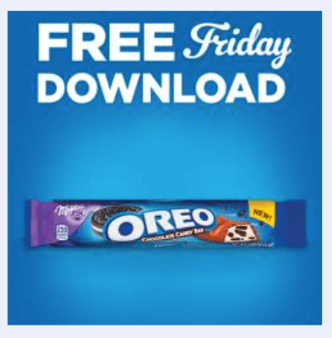 kroger coupon free oreo milka candy bar