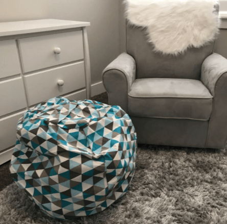 canvas stuffed animal bean bags