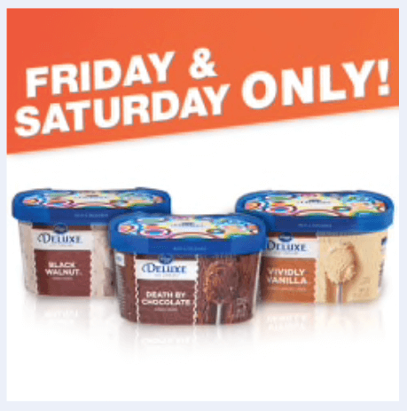 kroger digital deals ice cream