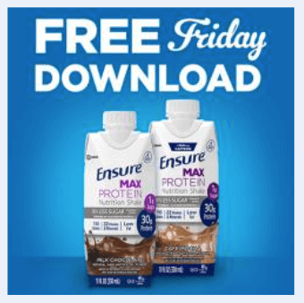 kroger coupon free ensure max protein shake