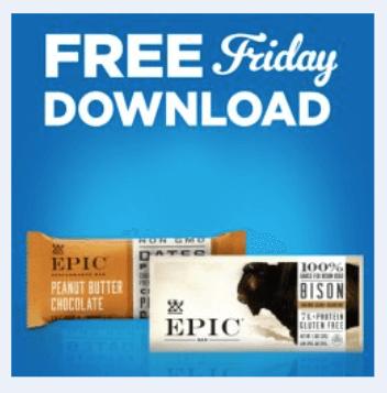 kroger coupon free epic performance bar