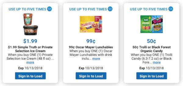 Kroger lunchables price