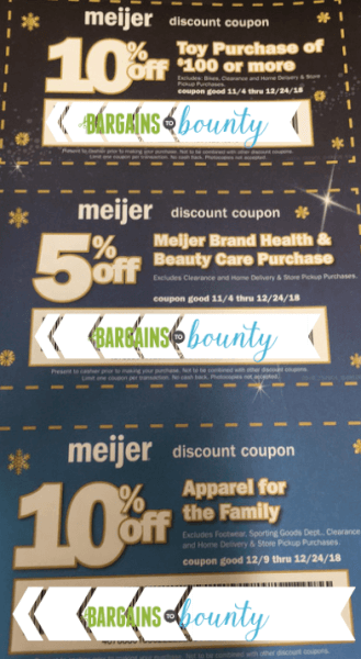 meijer charity coupons