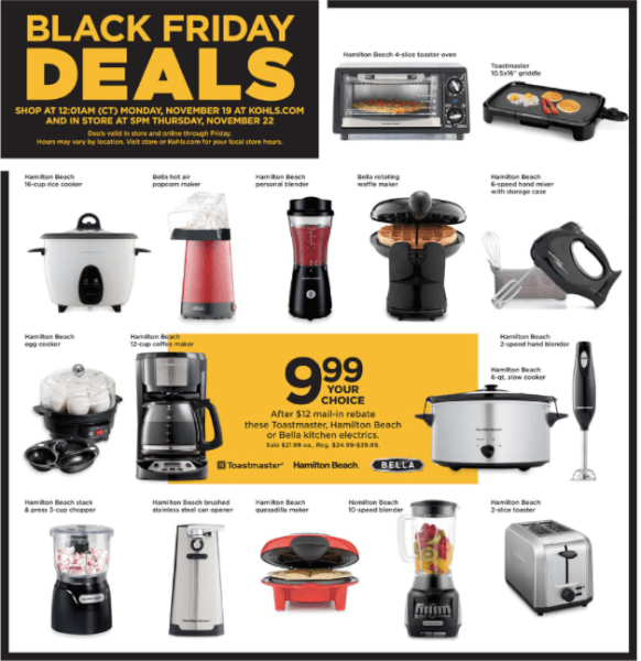 Kohl\'s Black Friday: Best Deals on Small Kitchen Appliances ...