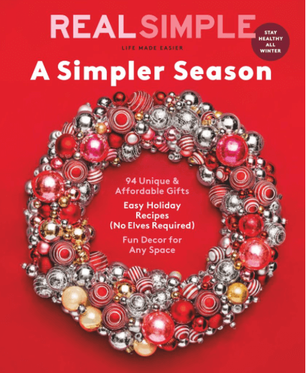 Real Simple Weddings Magazine 2018: Real Simple Magazine Under $5 Per Year! • Bargains To Bounty