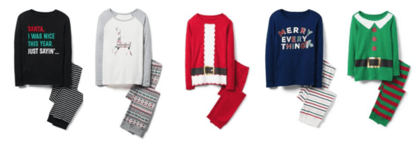 crazy 8 christmas pajamas