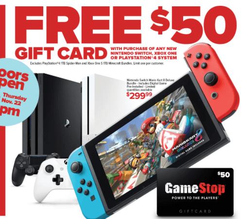 Nintendo Switch: Black Friday 2018 Price Comparison