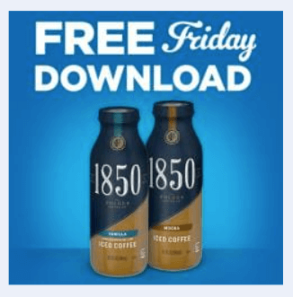 kroger coupon free 1850 ready to drink coffee