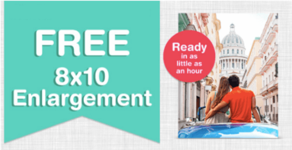 walgreens free 8x10 photo print