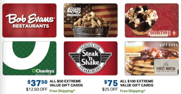 sam's club gift card sale