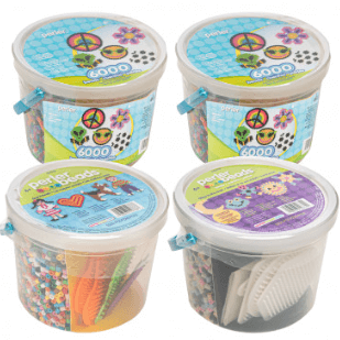 Perler Bead Buckets