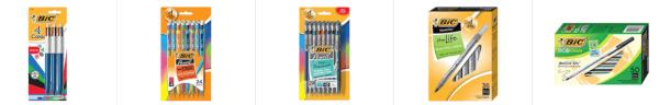 bic pens pencils