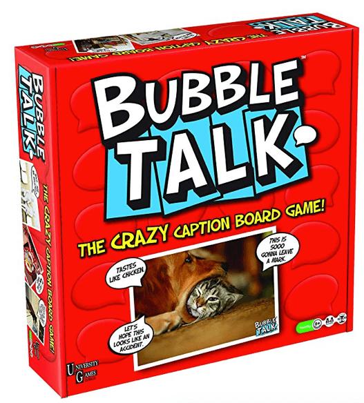 bubble talk crazy caption board game