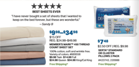 sam's club one day sheets