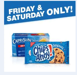 picture regarding Chips Ahoy Coupons Printable titled Kroger 2 Times of Electronic Offers: $0.99 Transfer-Gurt, Capri Sunshine