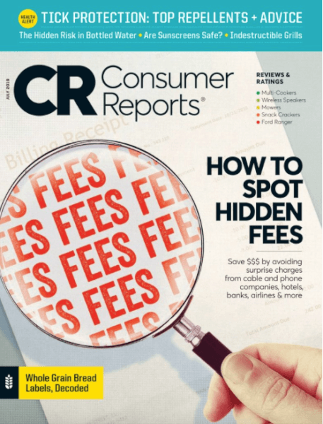 consumer reports magazine deal