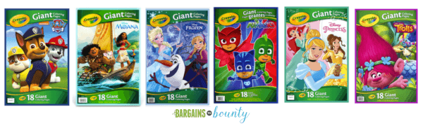 Frozen Giant Coloring Pages from Crayola - YouTube | 180x600