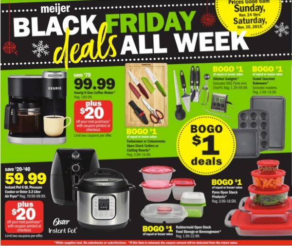 Meijer Black Friday All Week Long November 24 30 2019 Bargains To Bounty