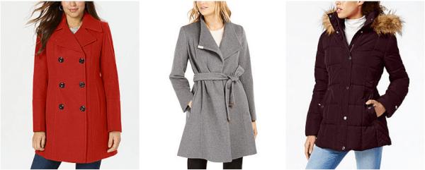 macy's women's coats