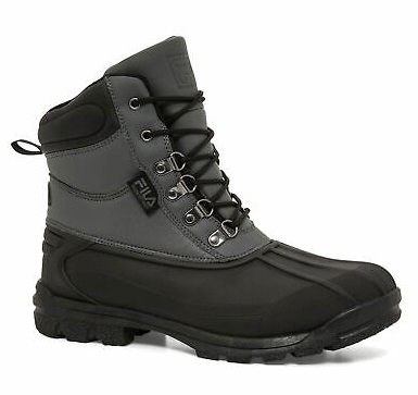fila men's extreme waterproof boots