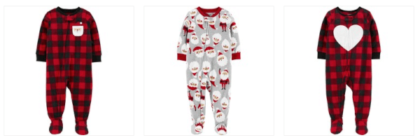 carter's baby toddler pajamas