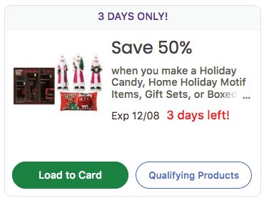 kroger 50% off kroger holiday candy and decor