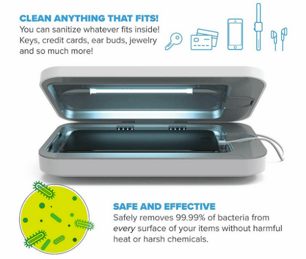 phone soap uv phone sanitizer charger