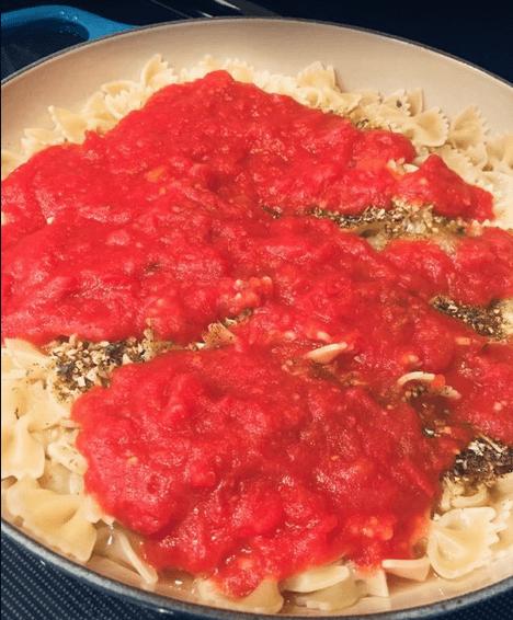 easy pasta skillet recipe