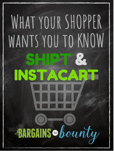 what your shipt instacart shopper wants you to know