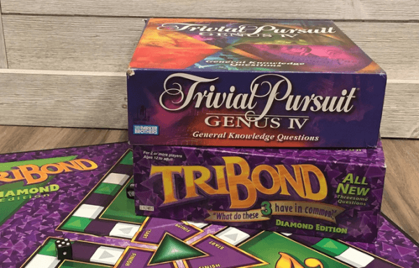 trivial pursuit tribond games to play on video chat