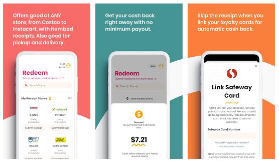 coupon.com app cash back rewards