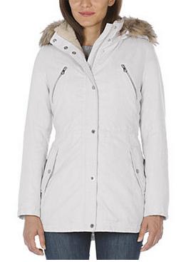 nautica hooded anorak coat