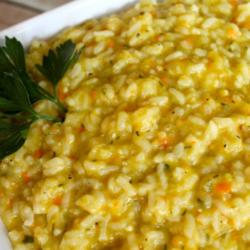 instant pot garlic confetti risotto