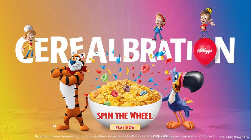 kroger instant win game kellogg's cerealbration