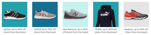 brand outlet on ebay