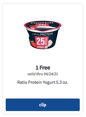meijer mperks free ratio protein yogurt